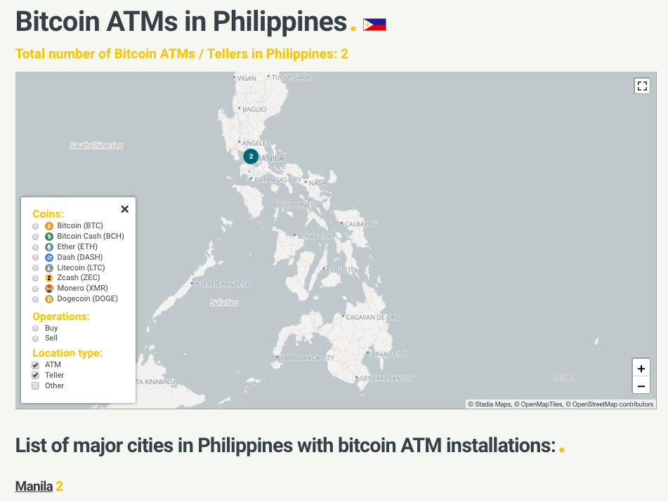 buy and sell bitcoins philippines flag