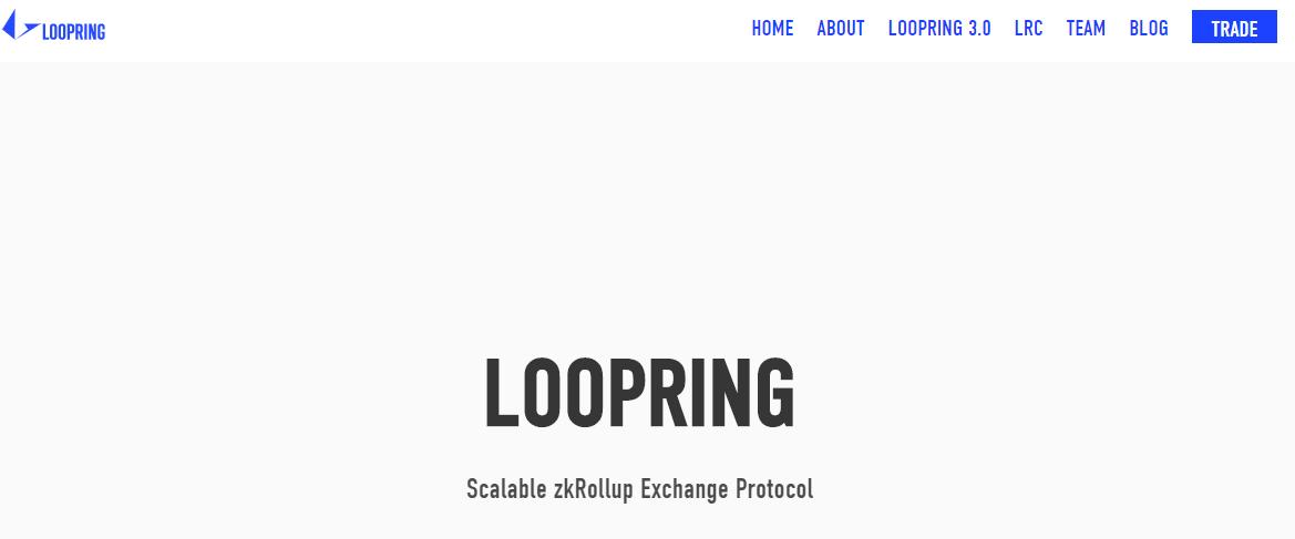 Qu'est-ce que Loopring