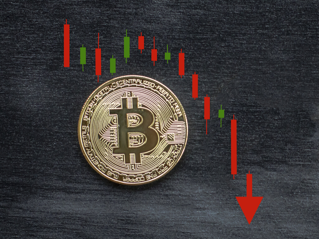 Bitcoin price failed to regain the $ 50,000 threshold and continued to fall in freefall amid the cryptocurrency market sinking in blood - AZCoin News