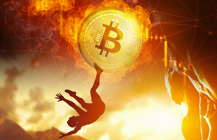 Bitcoin price fell slightly this morning after setting a record above $ 56,000 - AZCoin News