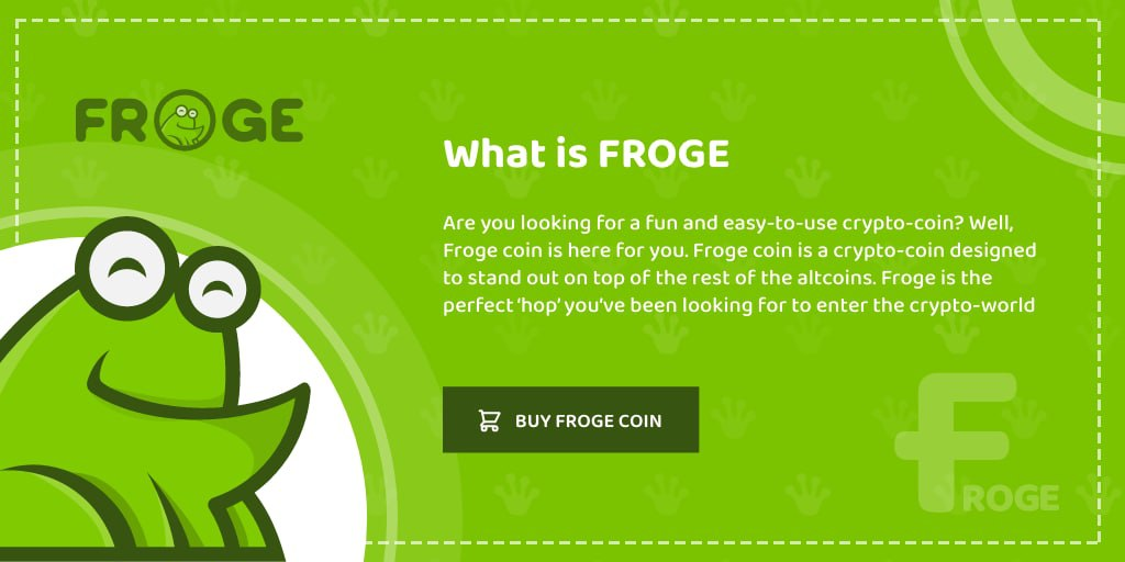 FROGE Coin is now Live - Get it while it's fresh - AZCoin News
