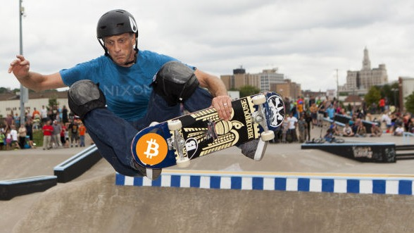 Skateboard legend Tony Hawk admits to buying Bitcoin in 2012, said that BTC is the future of finance - AZCoin News
